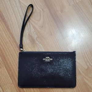 Brown Wristlet from Coach NWOT